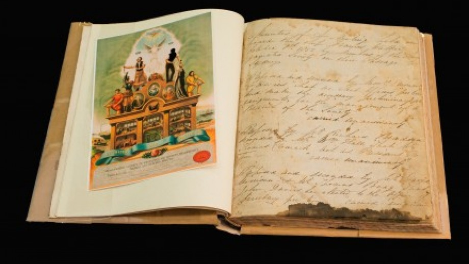 Photo of old book