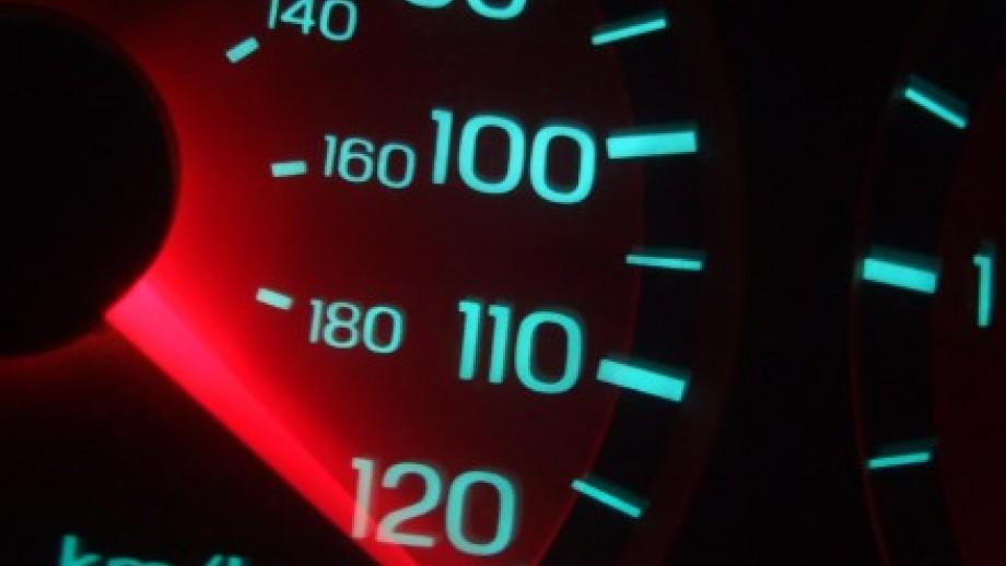 Photo of speedometer
