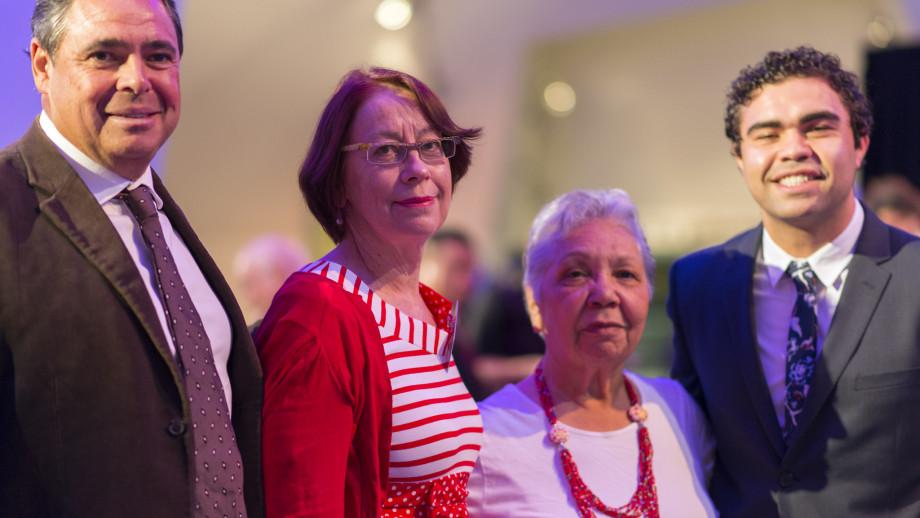 ANU Indigenous alumni at the ANU Alumni Awards