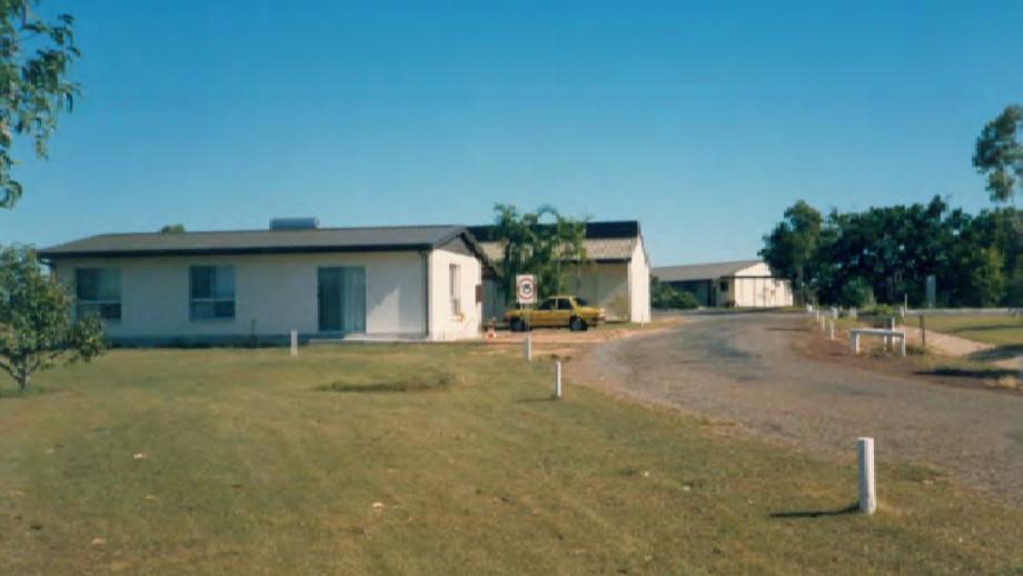 Buildings at NARU, 1986 (Source: ANU)