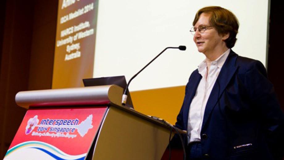 Professor Anne Cutler