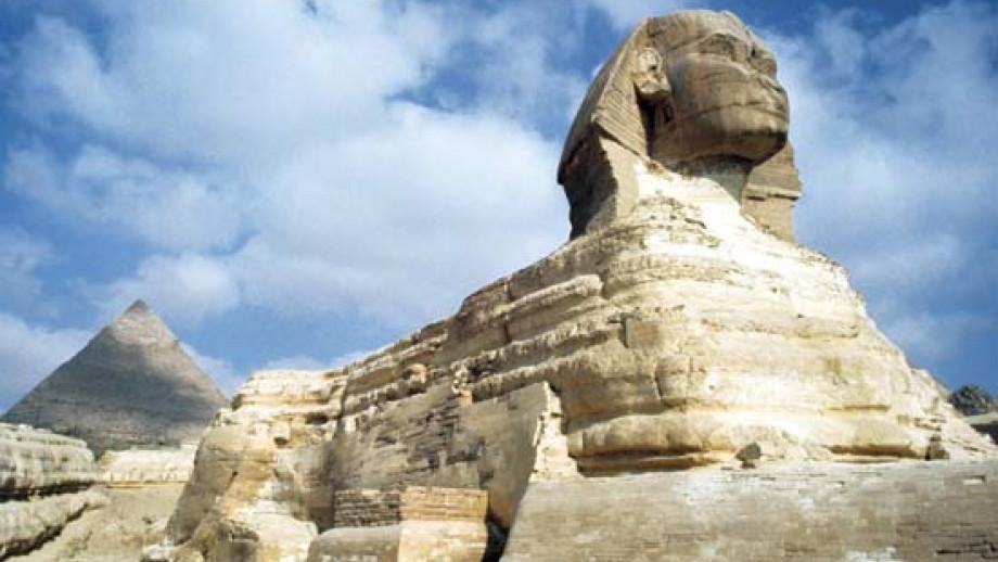The Sphinx. Credit: Art Media/Heritage-Images