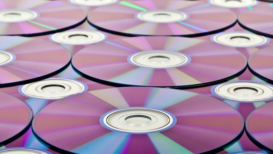 photo of cd's