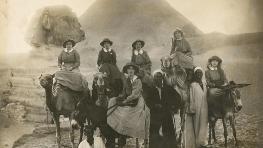 Australian nurses in Egypt