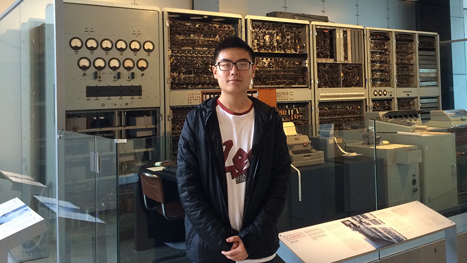 Fangzhou Jiang -  Bachelor of Advanced Computing (Research and Development) / Bachelor of Commerce 2016, Recipient of the ANU International Undergraduate Scholarship