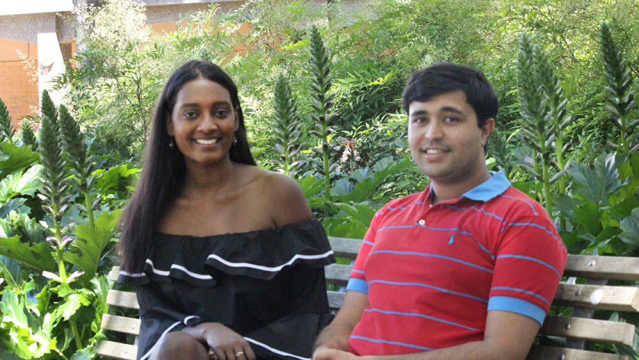ANU College of Law students Prashant Kelshiker and Sonali Fernando have been awarded the inaugural scholarships to undertake an internship in a London legal firm or barrister chambers.