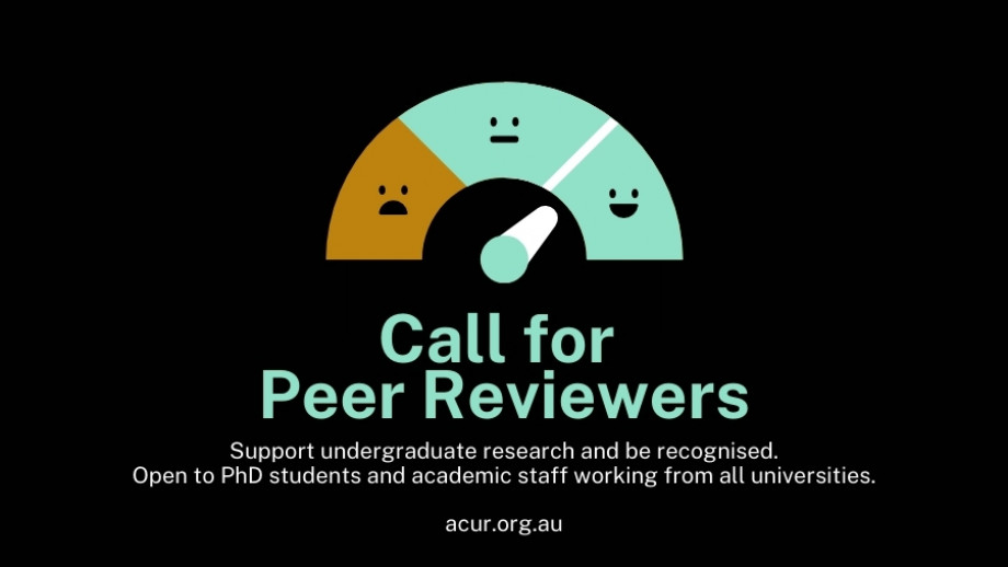 Call for peer reviewers