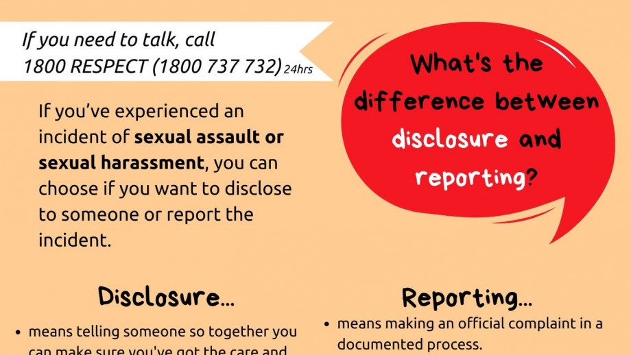 What's the difference between disclosure and reporting?