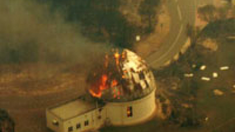 Bushfires at Stromlo (Actew)