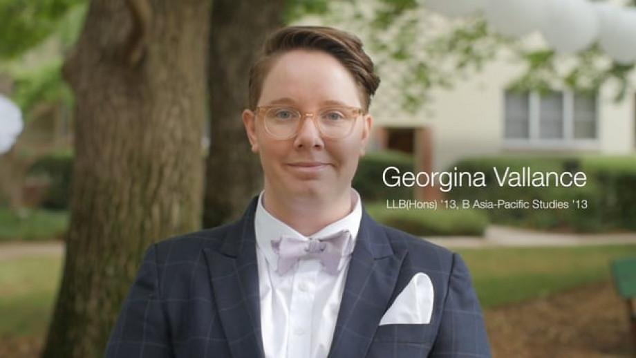 Alumni Spotlight - Georgina Vallance