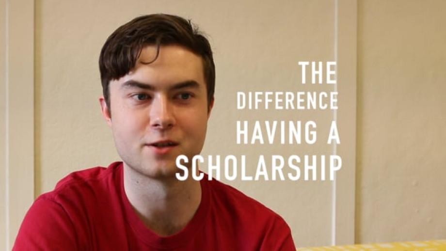 Scholarships help Matthew pursue his passion