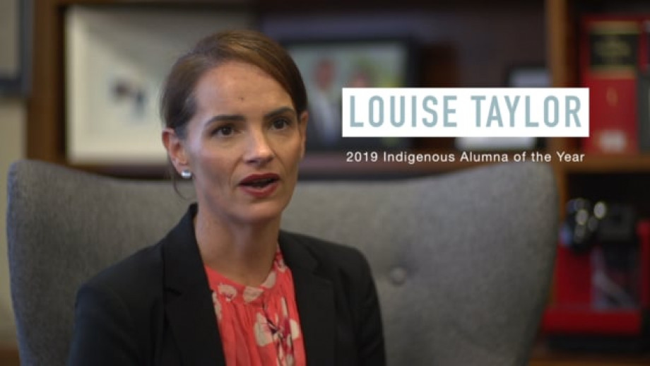 Louise Taylor - 2019 Indigenous Alumna of the Year