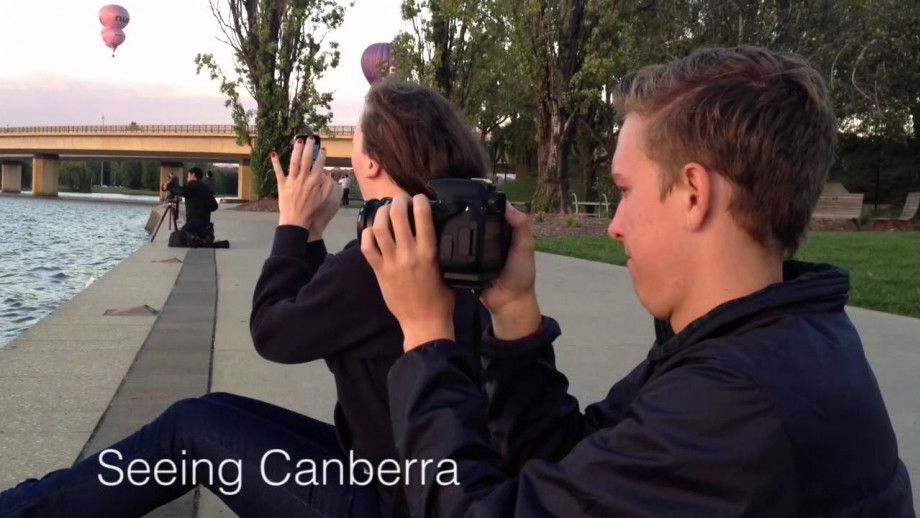 A student perspective of first week at ANU