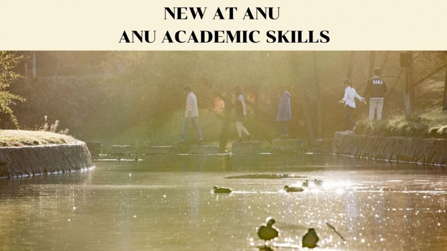 New at ANU