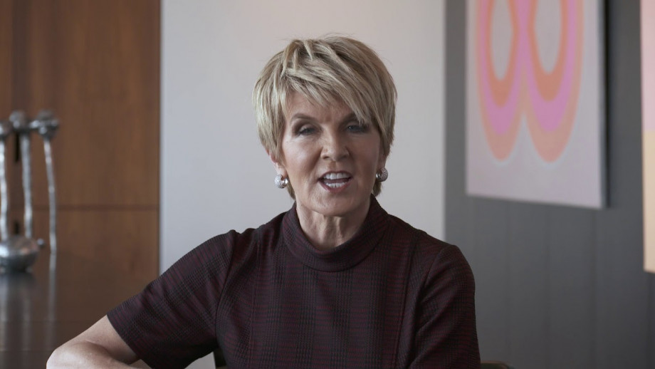 Message to the ANU community: The Hon Julie Bishop