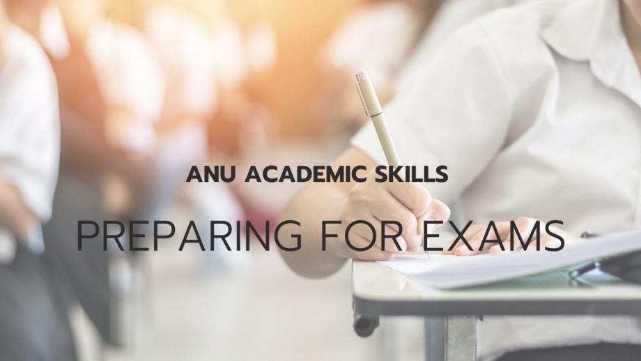 O Week - Preparing for exams