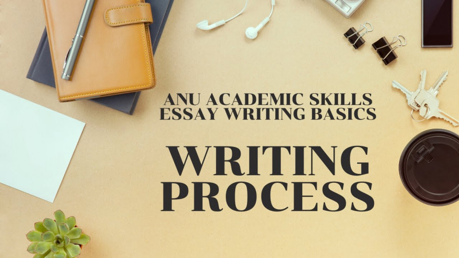 Essay writing - Process