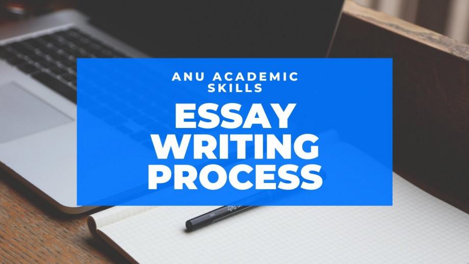 Essay writing process video, JS