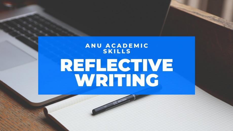 Reflective writing, video