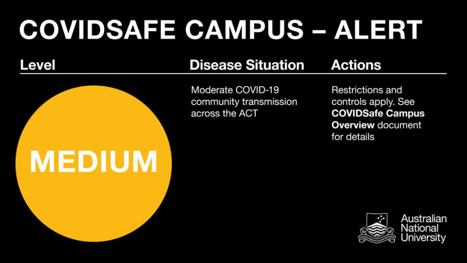 COVID Safe Campus Alert - MEDIUM