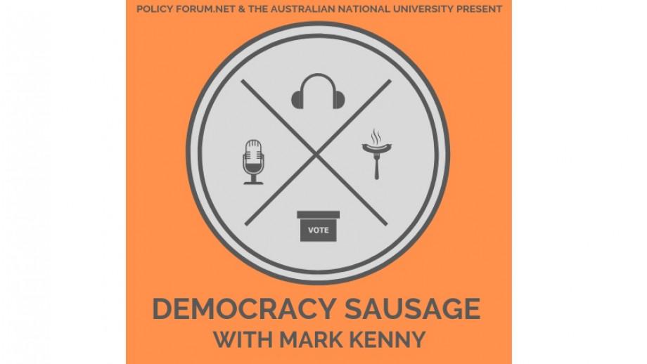 Democracy Sausage episode 5 logo