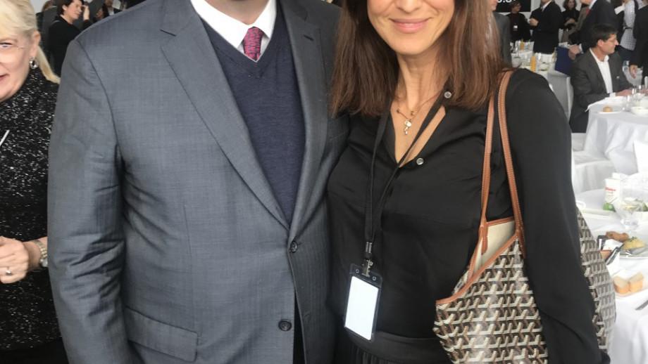 Sarah Backhouse and Al Gore