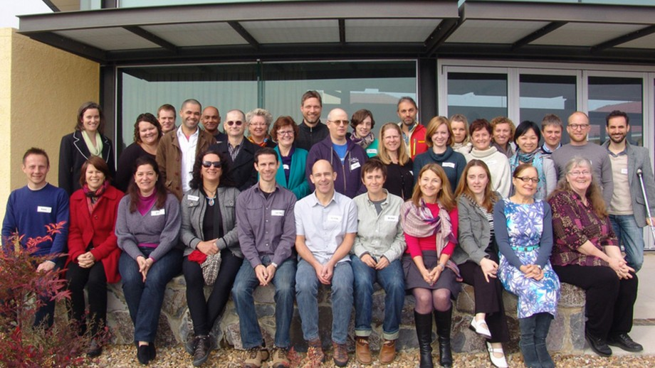 Attendees at last year's retreat.