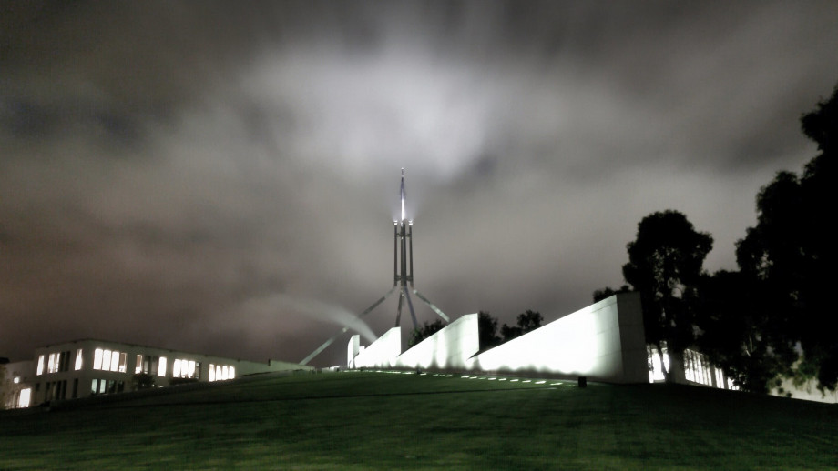 Australia's Parliament House. Photo by MomentsforZen on flickr