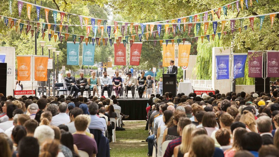 The 2017 Commencement Address will be held on the lawns of University Avenue (across the Sullivans Creek Bridge), on Wednesday 15 February from 10-11am.
