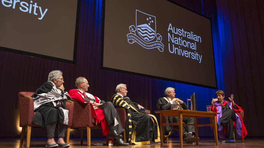 The inaugural ANU Foundation Day Lecture. Photo by Lannon Harley, ANU.