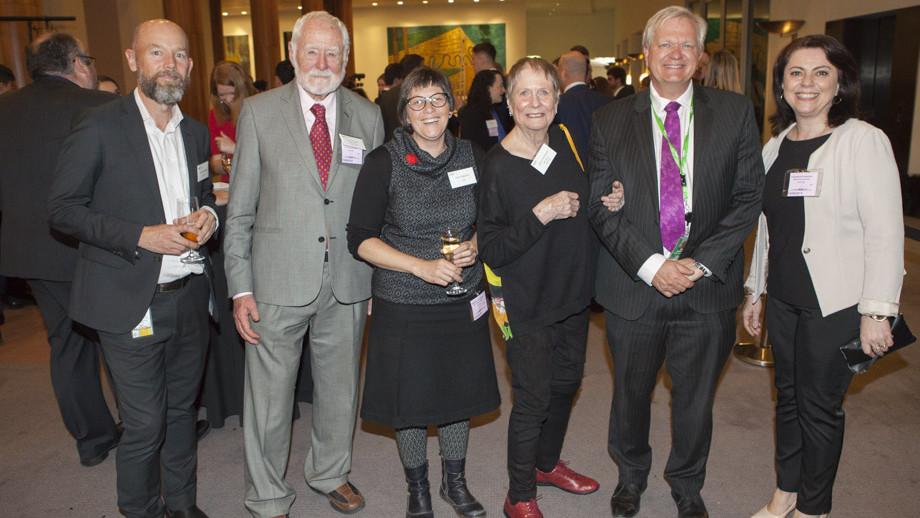 25th Anniversary celebration of the Australian National Internship Program at Parliament House. Photo by Lannon Harley, ANU.