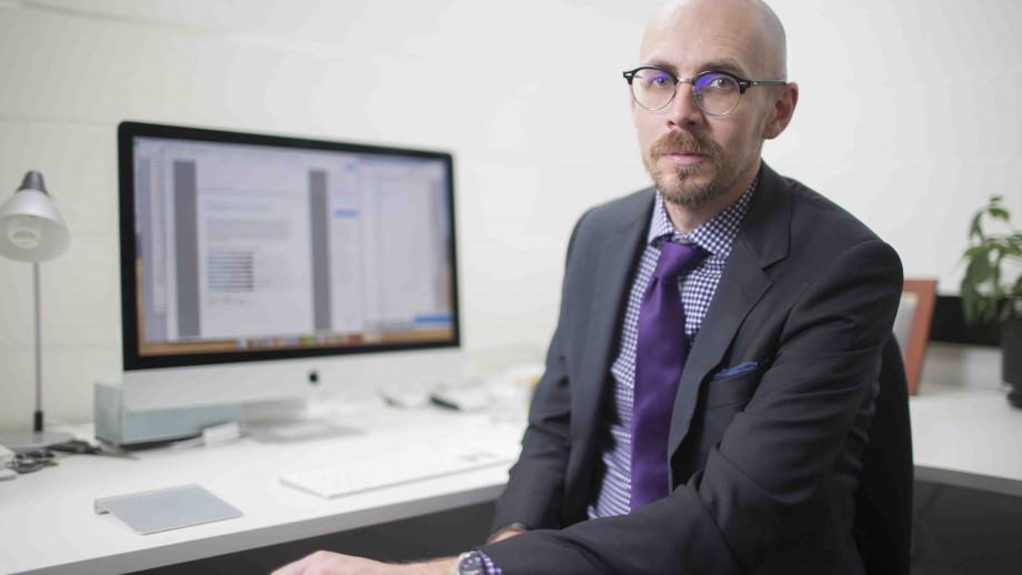 Associate Professor Nicholas Biddle. Image: Lannon Harley, ANU