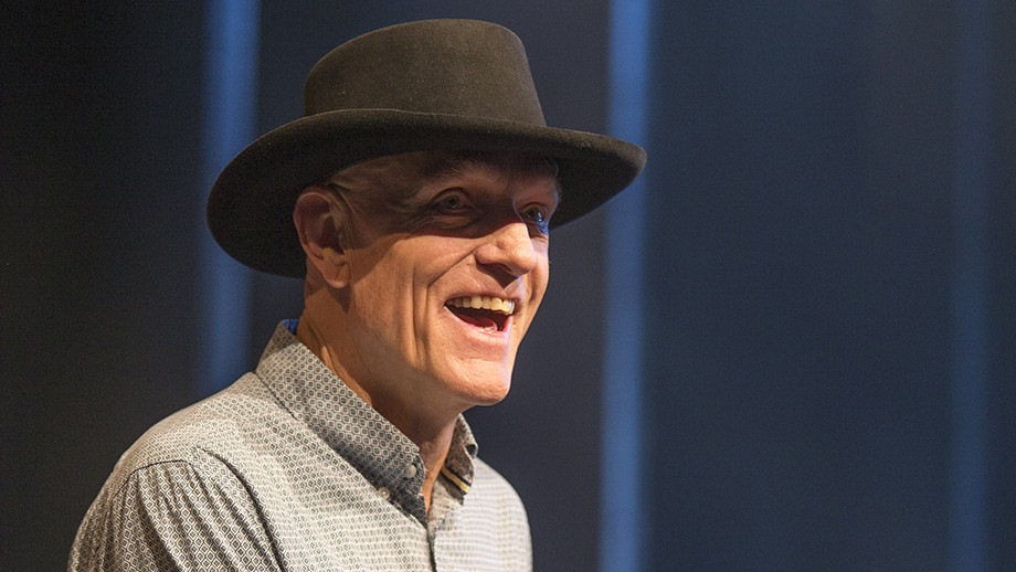 Hon Peter Garrett revisited his ANU days in his address at the Kambri opening ceremony