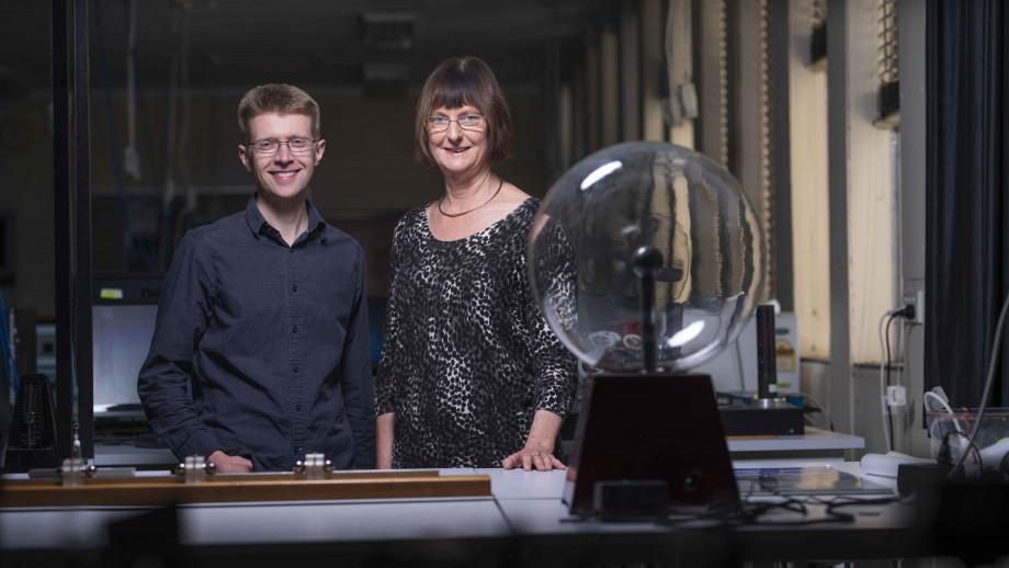 Dr Chris Onken (left) and Professor Susan Scott. Image credit: ANU