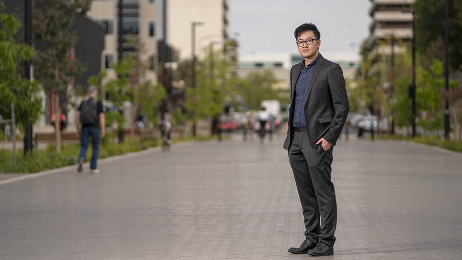 Dr Di Fan, of the CBE School of Management, who co-led the research. Image: Benjamin Keough