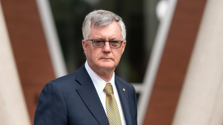 Dr Martin Parkinson AC PSM has been named the new Chair of the Sir Roland Wilson Foundation. Photo: Jamie Kidston/ANU