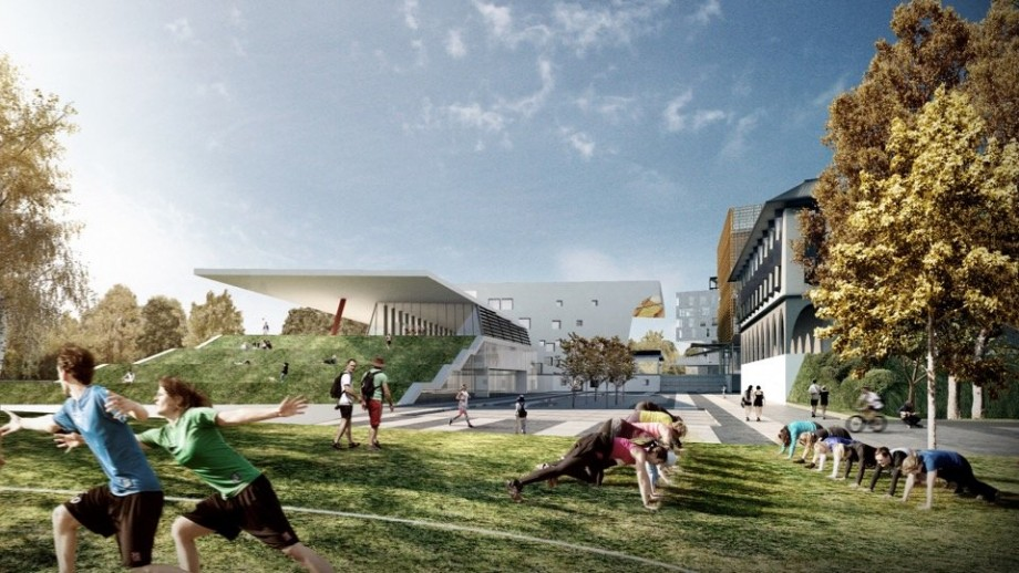 Proposed new recreation facility in a revitalised Union Court