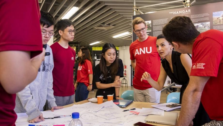 Singapore Hackathon participants