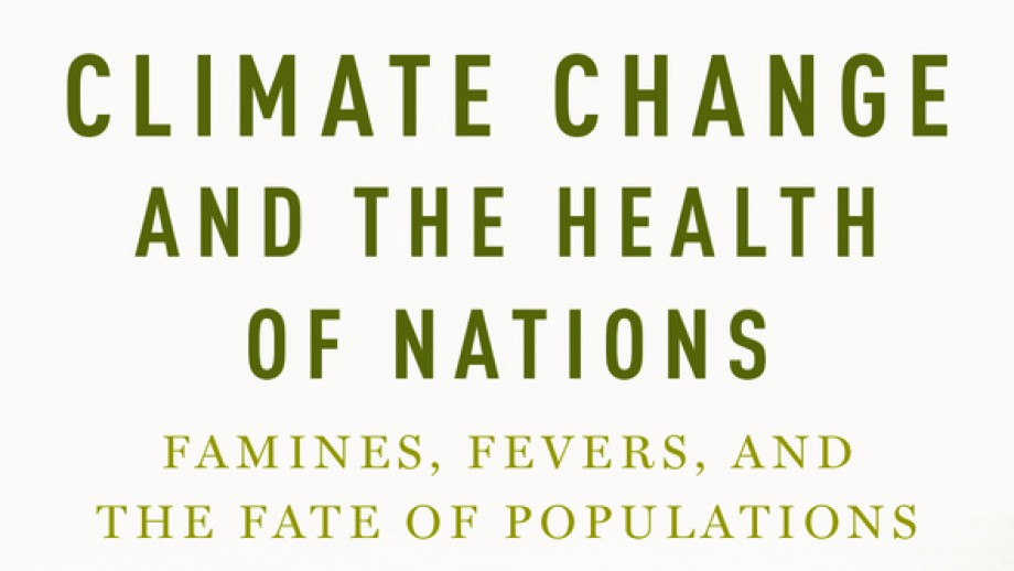 The late, great Professor Tony McMichael has posthumously published the most comprehensive look at the impact of climate change on human health. Image: Book cover.