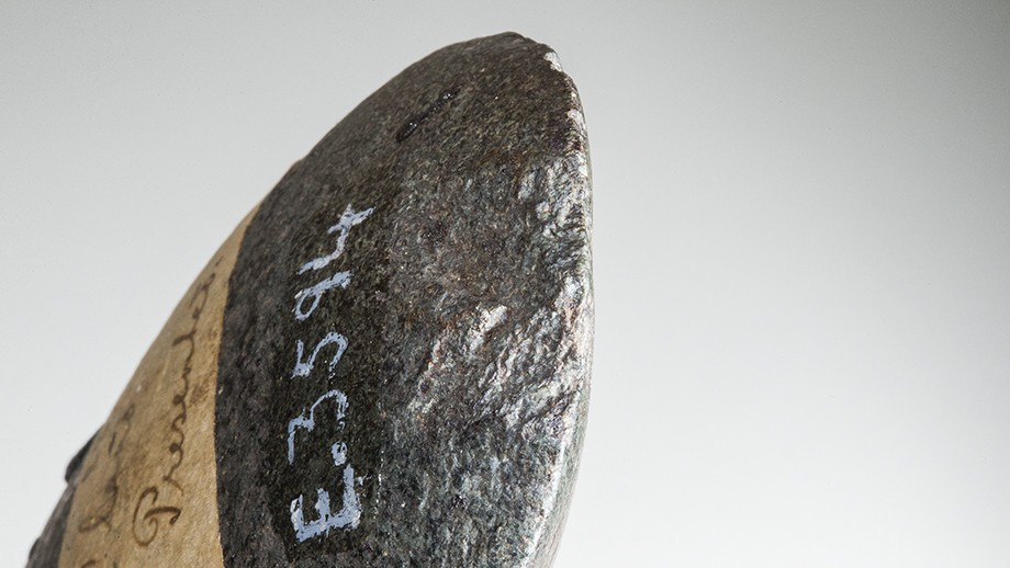 An example of what the axe would have looked like. Image: Stuart Hay, ANU.