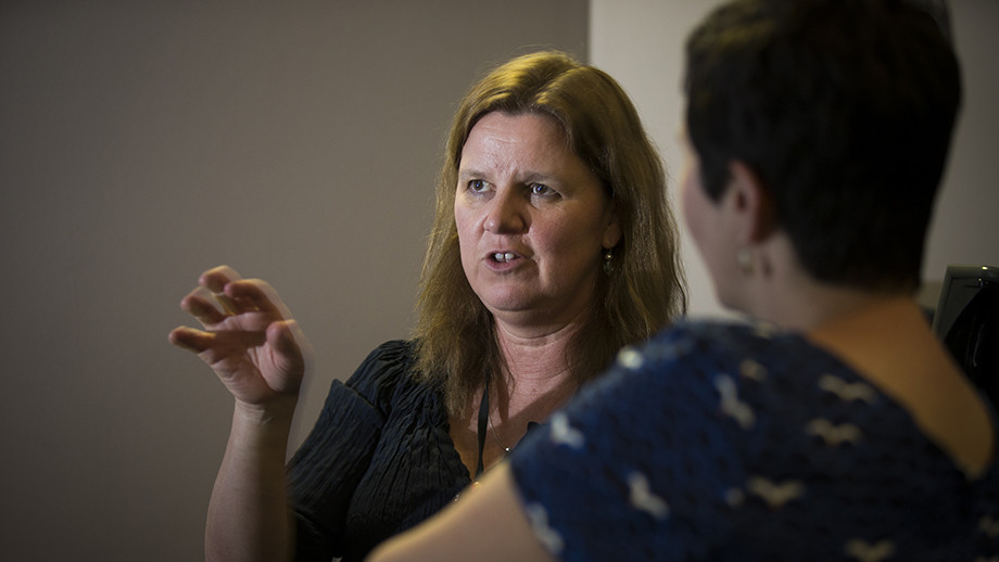 Dr Katrina Anderson, recognised with a national teaching award.