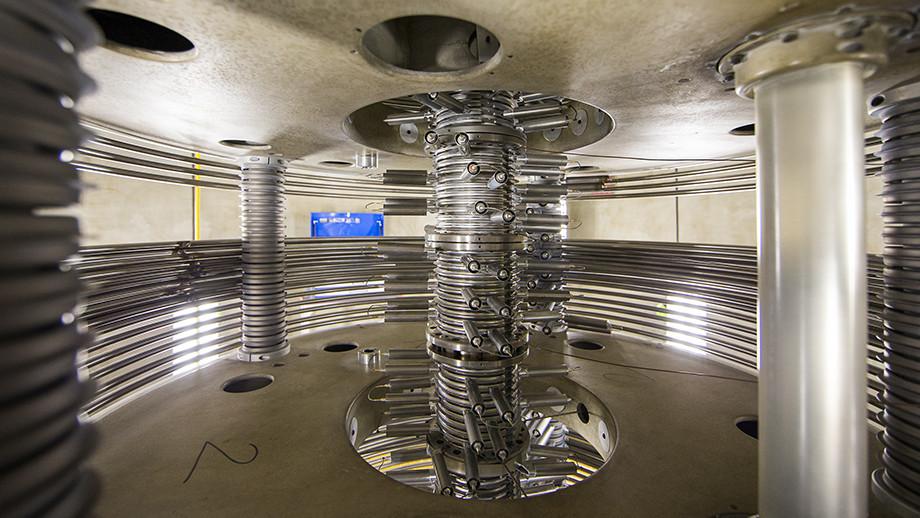 Accelerator Tower. Image credit: Stuart Hay, ANU