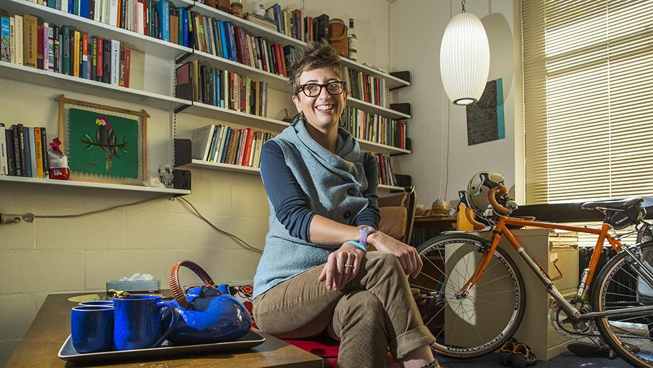 Dr Caroline Schuster. Image: Stuart Hay, ANU.