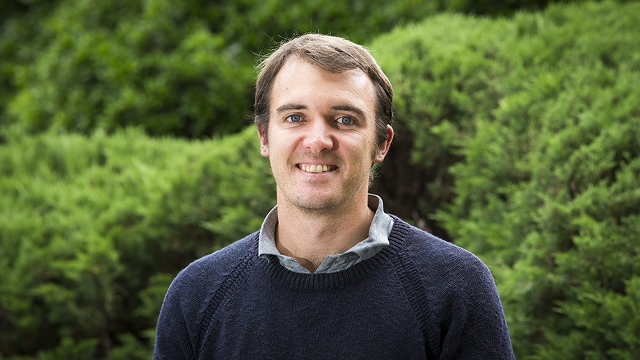 Mark Fabian has been awarded one of four overseas 2016 National Parliamentary Fellowships which will see him head to India. Image: Stuart Hay