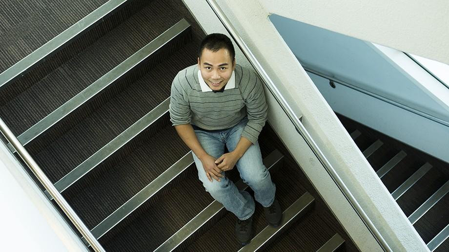 Thien Nguyen. Image Stuart Hay, ANU