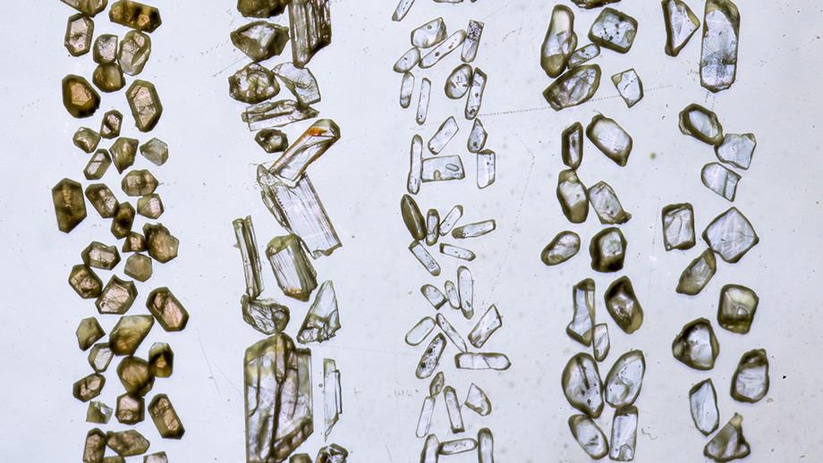 Zircon crystals in sandstone in the Jack Hills of Western Australia are the oldest fragments of the Earth ever found