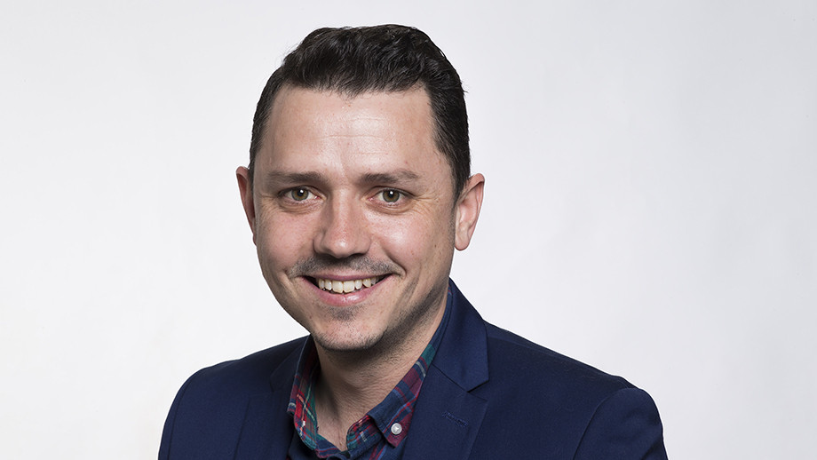 Dr Jason Payne, recognised with a national teaching award.