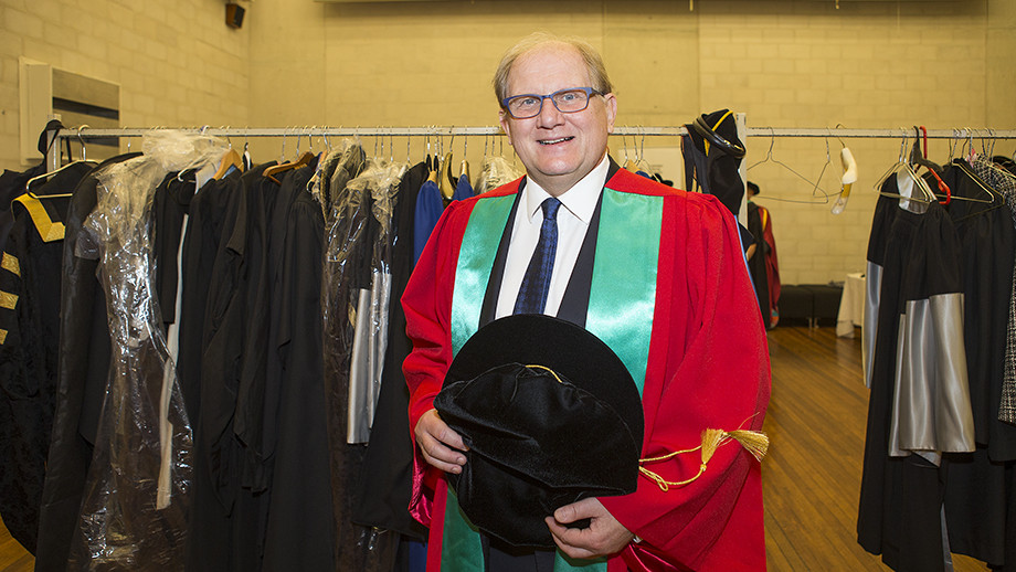 Professor Bertil Andersson. Photo by Stuart Hay, ANU.