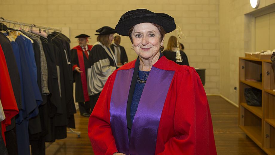The Honourable Susan Ryan AO. Photo by Stuart Hay, ANU.