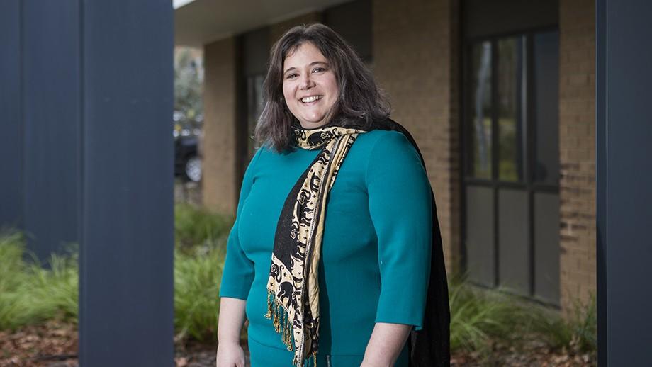 Meredith Edelman. Image: Stuart Hay, ANU.